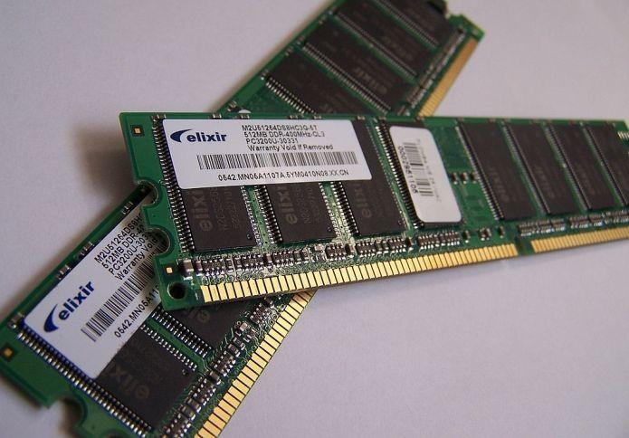 Etiquetas de memórias RAM