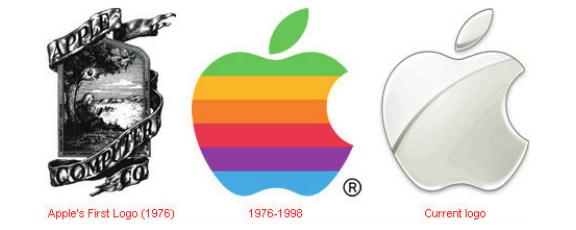 Logo da empresa Apple