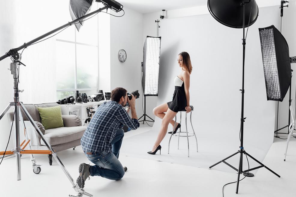 Equipamentos de um Estúdio Fotográfico