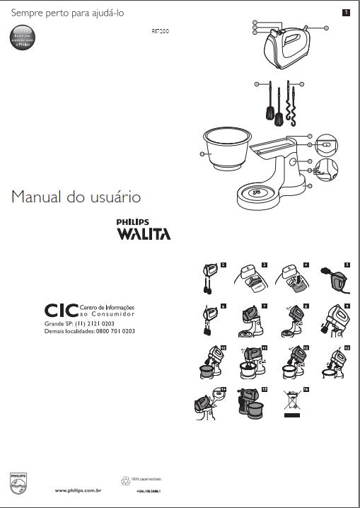 Figura 1 - Página 1 do manual