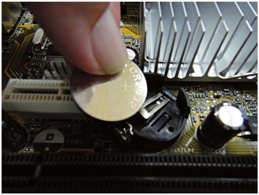 Bateria utilizada pelo setup da BIOS