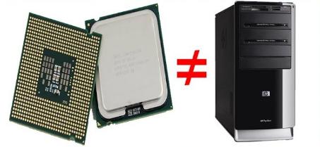 Diferença entre gabinete e CPU